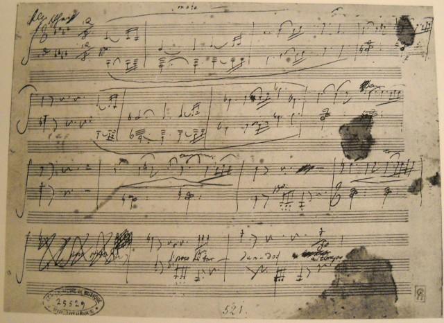 Appassionata manuscript
