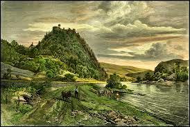 Hora Prácheň se zříceninou  hradu
