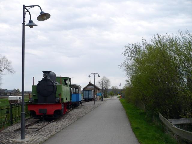 Bývalé nádraží na cyklostezce