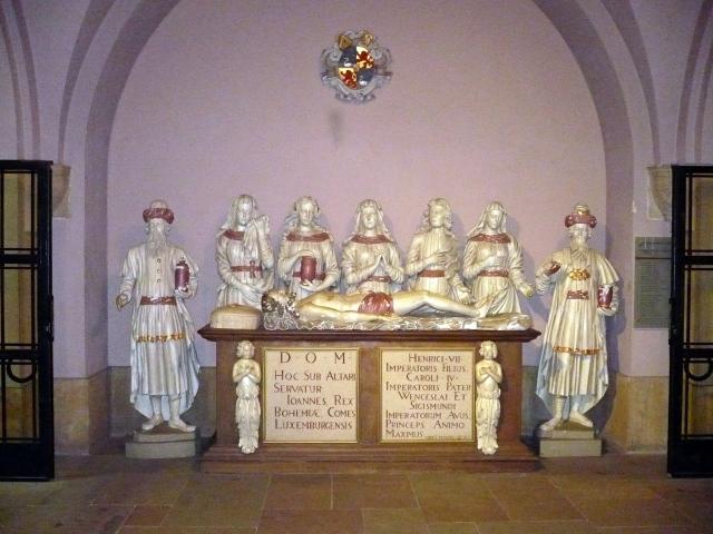 Hrobka krále Jana v katedrále