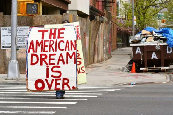 Americký sen je v ... (ano, až tam)