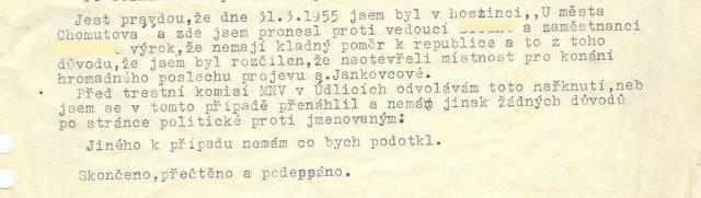 projev Jankovcové-st
