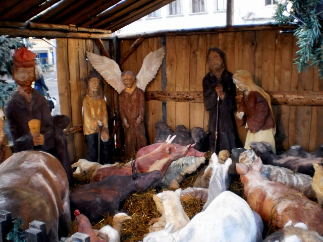 Vánoční trh v Budějovicích