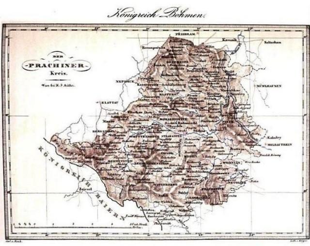 Prácheňsko 1840
