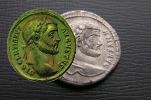 denár Diokleciánův