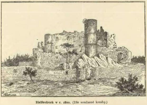 Helfenburg v době Sedláčkově