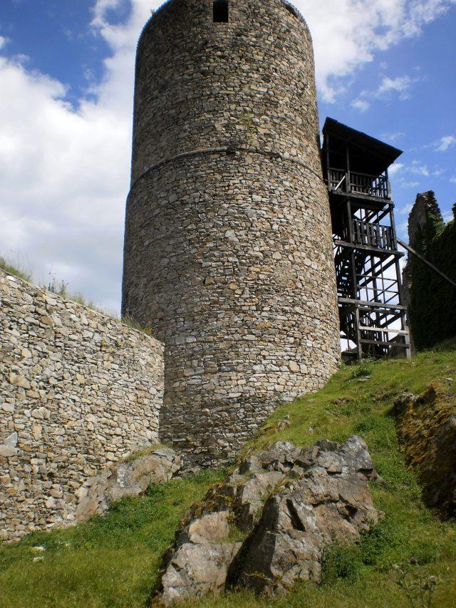 věž v současnosti nepřístupná