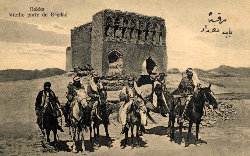 Stará Bagdádská brána - Rakká